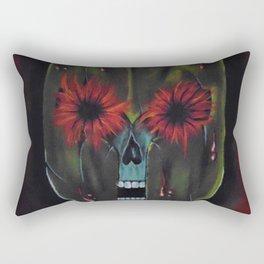 bloodshot spartan Rectangular Pillow