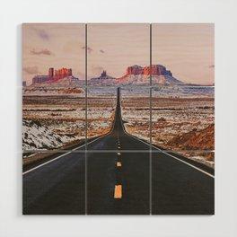 Monument Valley Sunrise Wood Wall Art