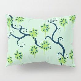 Handbag Heave Blues - detail Pillow Sham
