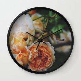 Roses for Diana Wall Clock
