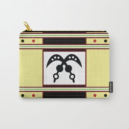 African Akan Adinkra Akofena Carry-All Pouch