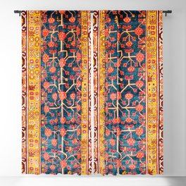 Khotan  Antique East Turkestan Rug Print Blackout Curtain