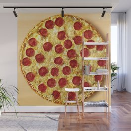 Who Wants Pizza? Wall Mural