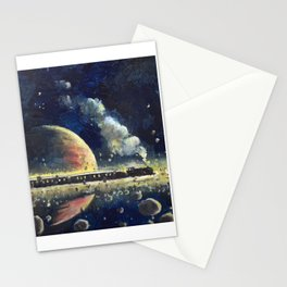 The Saturn Express Stationery Cards