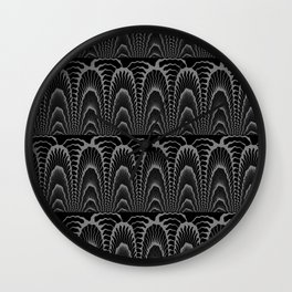 Ebony design Wall Clock