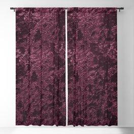 Deep Burgundy wine velvet Blackout Curtain