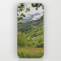 norway iPhone & iPod Skins featuring norway by anjastensrud