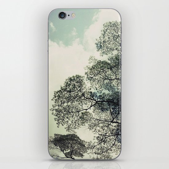 patterns of the tree iPhone & iPod Skin