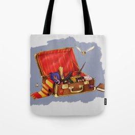 Magic Suitcase Tote Bag