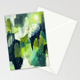 Feeling green Stationery Cards