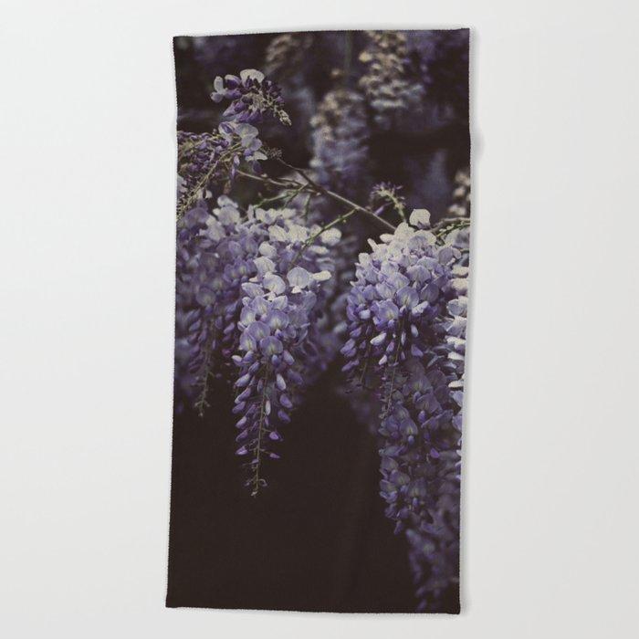 Wisteria Beach Towel