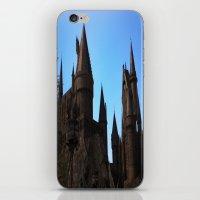 hogwarts iPhone & iPod Skins featuring Hogwarts by Blue Lightning Creative