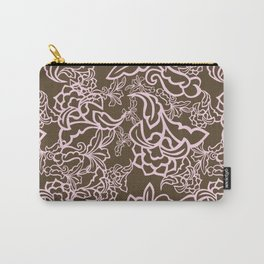 Romantic Modern Ornaments Carry-All Pouch