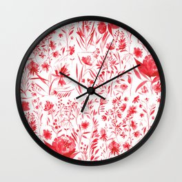 Garden Wall Clock