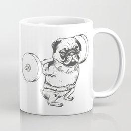 Pug Squats Coffee Mug
