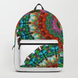 Deep Love - Mandala Art By Sharon Cummings Backpack