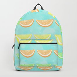 Citrus Smiles Stripes Backpack