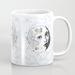 Moon Man Coffee Mug
