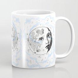 Moon Man Coffee Mug