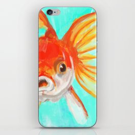 A Goldfish Kind of Day iPhone Skin
