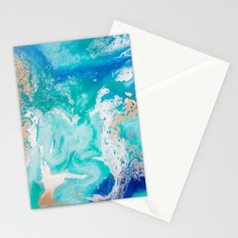 Into the Blue Lagoon Stationery Cards
