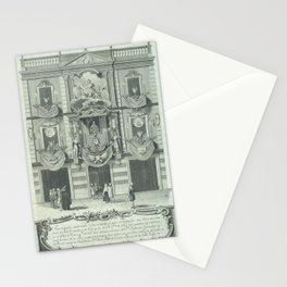 Agustí Sellent Torrents - Façade of the Home of Joan Pau Canals (1783) Stationery Cards