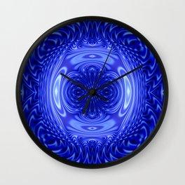 Flow Blue Wall Clock