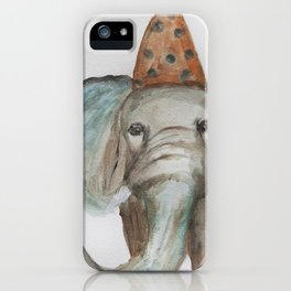Elephant Sized Fun iPhone Case