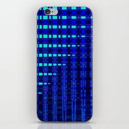 Blue in Shadows iPhone Skin