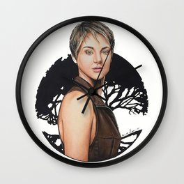 The Divergent Series: Insurgent - Tris | Drawing Wall Clock