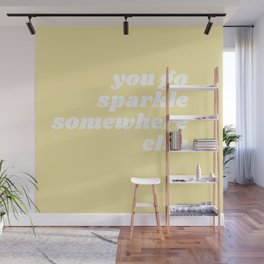 sparkle somewhere else Wall Mural
