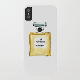 Yellow Parfum iPhone Case
