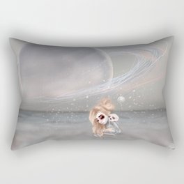 How did I get here, how can I go home. Rectangular Pillow
