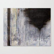 the thin black line Canvas Print