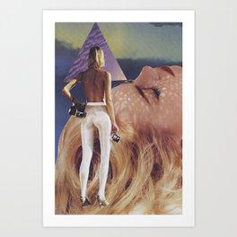 """'dame"""" Art Print"""