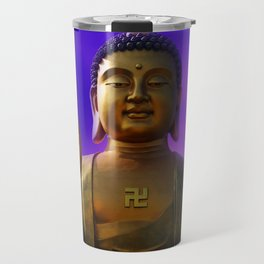 Buddha Blue Dawn Travel Mug