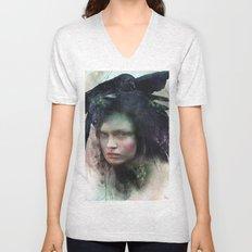 Girl of October Unisex V-Neck