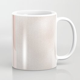 Cloudy marble on golden rose Coffee Mug
