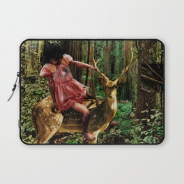 Deerlove   Collage Laptop Sleeve