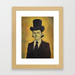 Oilman Painting : Johnny  Framed Art Print