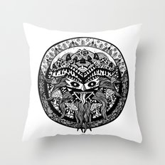 Shamandala Throw Pillow