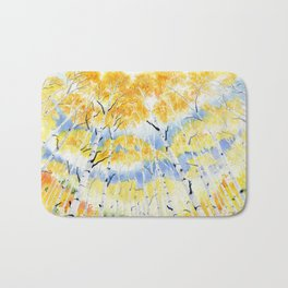 Under the Birch Forest Bath Mat
