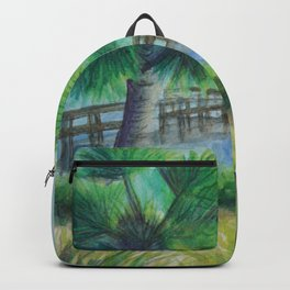 Dusk on the River MM160216h Backpack