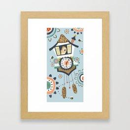 Cuckoo! Framed Art Print