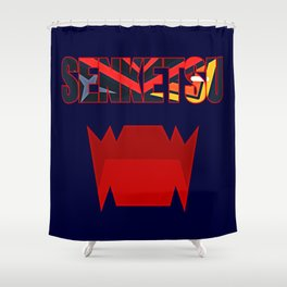 Senketsu - Kill La Kill Shower Curtain