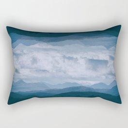 Fantasy Landscape II Rectangular Pillow