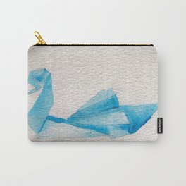 Origami-Swan Carry-All Pouch