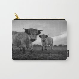 High Park Cow Mono Carry-All Pouch