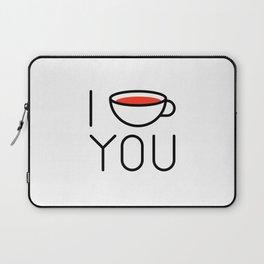 I Coffee You - Love, Coffeeholic Laptop Sleeve