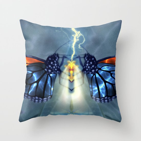 Nature, the ultimate power source Throw Pillow